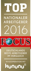 Top Nationaler Arbeitgeber 2016