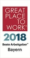 Great Place To Work - Beste Arbeitgeber Bayern  2018
