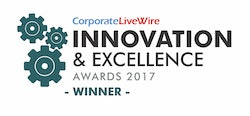 CorporateLiveWire Innovation & Excellence Awards 2017 – Winner