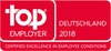Top Employer Deutschland 2018