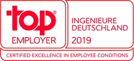 Top Employer Ingenieure Deutschland 2019