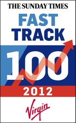Placed in Fast Track 100 List 2012