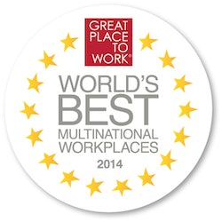 Great Place To Work 2014 -  World´s Best Multinational Workplaces