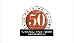 "Platz 8 in der Liste der ""Woman Engineer's Top 50 Employers."""