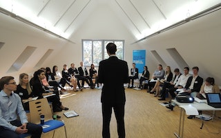 Sales Workshop mit AIESEC
